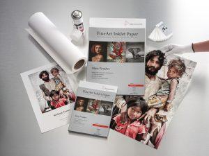 Aplicaciones papel 100% algodon