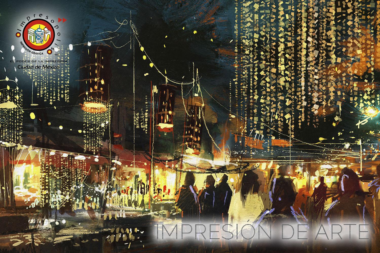 IMPRESION DE ARTE
