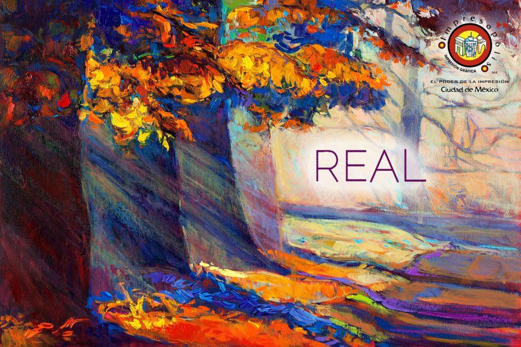 Efectos realisticos mediante la impresion fineart y el canvas