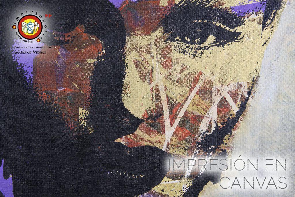 IMPRESION EN CANVAS