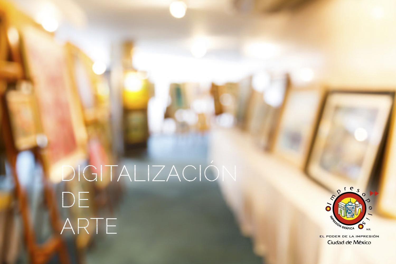 DIGITALIZACION DE ARTE