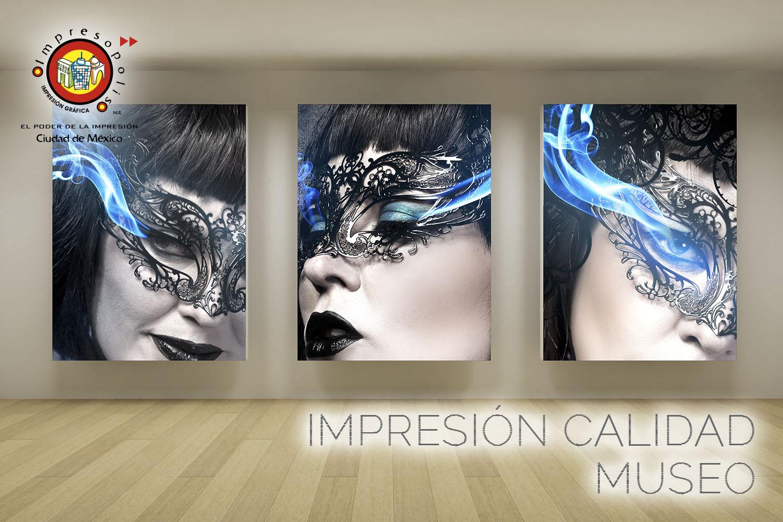 IMPRESION PARA MUSEOS