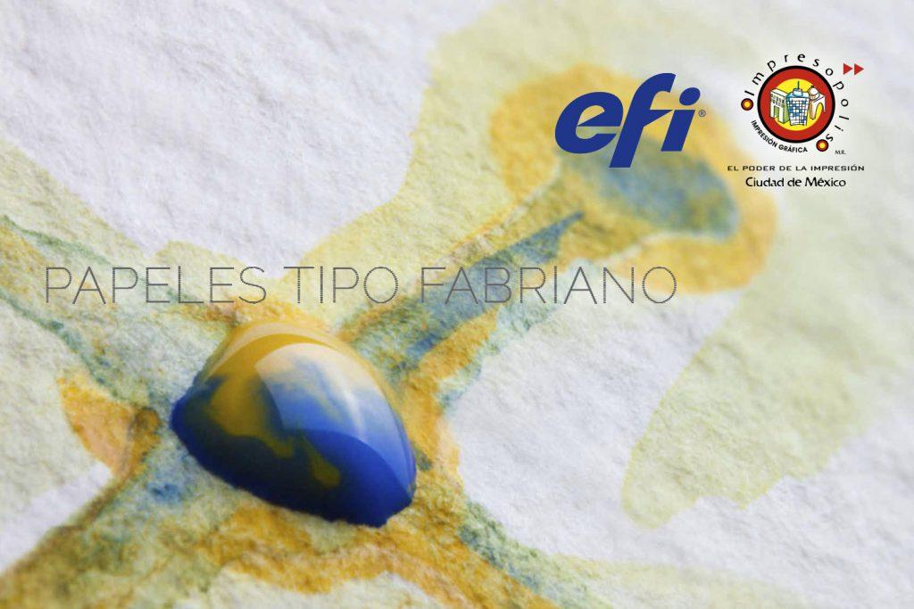 Impresión de Papel Fabriano y Fedrigoni