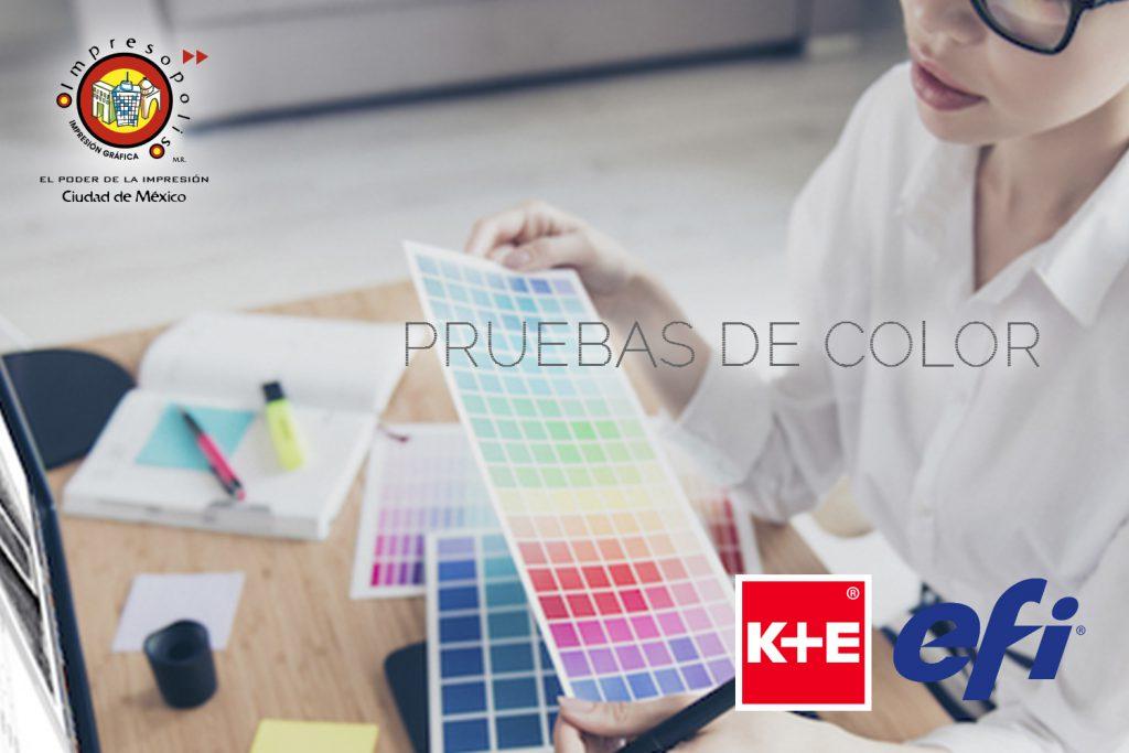 Impresión de pruebas de color Mexico