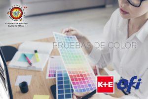 Impresión de pruebas de color
