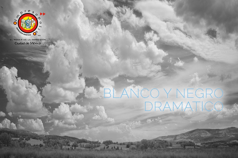 Impresion de fotografia blanco y negro