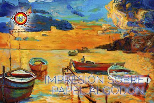 IMPRESION DE GICLEE